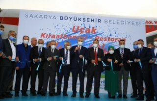 """Sakarya Büyükşehir Belediyesince """"Uçak Kıraathanesi""""..."""