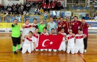 Türkiye Down Sendromlular Futsal Milli Takımı,...