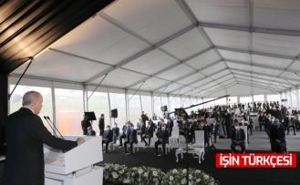 Cumhurbaşkanı Erdoğan Kuzey Marmara otoyolunun son etabı açılışına katıldı
