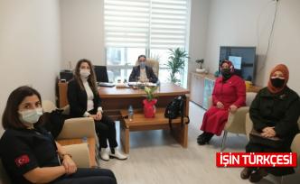 MHP Kadın Kolları'ndan Sağlıkçılara Moral Ziyaretleri