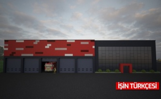 Hendek İtfaiye Binası'nın Yüzde 97'si Tamamlandı