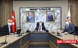 Vali Kaldırım'ın Başkanlığında Tüm İlçeleri Kapsayan Geniş Katılımlı COVID-19 Toplantısı Gerçekleştirildi