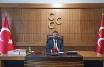 """Milliyetçi Hareket Partisi Sakarya İl Başkanı Ahmet Ziya Akar: """"Lidere Sadakat Şerefimizdir"""""""