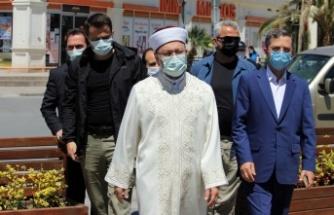 """Diyanet İşleri Başkanı Erbaş: """"Yaktığınız terör ateşi cehenneminiz olacak"""""""