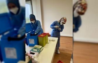 Sakarya'da organize sanayi bölgelerinde mobil aşı dönemi başladı