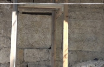 Tarihi Sinop Cezaevi restorasyonunda Selçuklu dönemine ait kitabeler ortaya çıktı