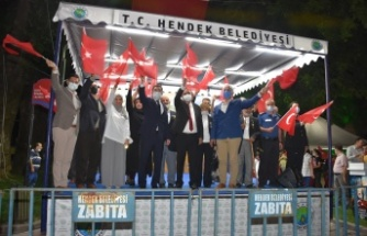Hendek'te de Destanın 5. Yılı Coşkuyla Kutlandı