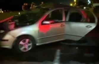 Kocaali'de iki otomobil kafa kafaya çarpıştı: 1 ölü, 3 yaralı