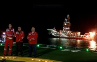 Karadeniz'de tarihi gün, doğalgazda ilk ateş yandı