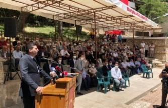 Ülkü Ocakları Genel Başkanı Ahmet Yiğit Yıldırım: 33 şehidimizin sızısı hala yüreğimizde