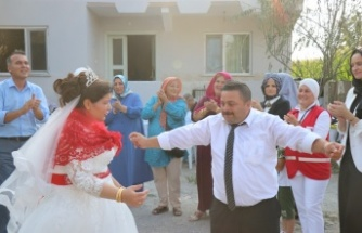 Sakarya'da görme engelli çiftin aşkı engel tanımadı