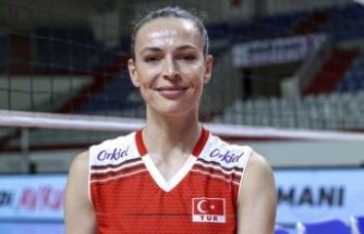 Kaptan Eda Erdem, 2021 Avrupa Voleybol Şampiyonası'nın rüya takımında yer aldı