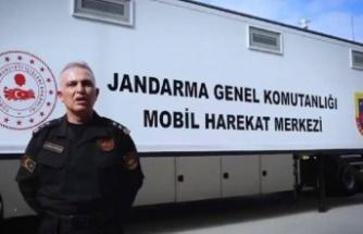 """İçişleri Bakanlığı """"Jandarma Mobil Harekat Merkezi"""" ile ilgili paylaşım yaptı"""