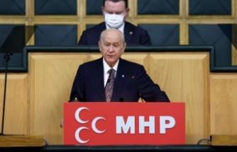 MHP Lideri Bahçeli: Osman Kavala Soros'çu, Selahattin Demirtaş teröristtir dedi