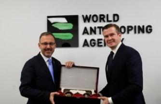 WADA Bakan Kasapoğlu'nu Mütevelli Heyetine seçti