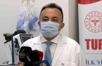 Yerli korona virüs aşısı TURKOVAC'ın hatırlatma dozu uygulandı