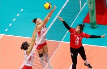 Türkiye U18 Kız Voleybol Milli Takımı, son 16 turunda