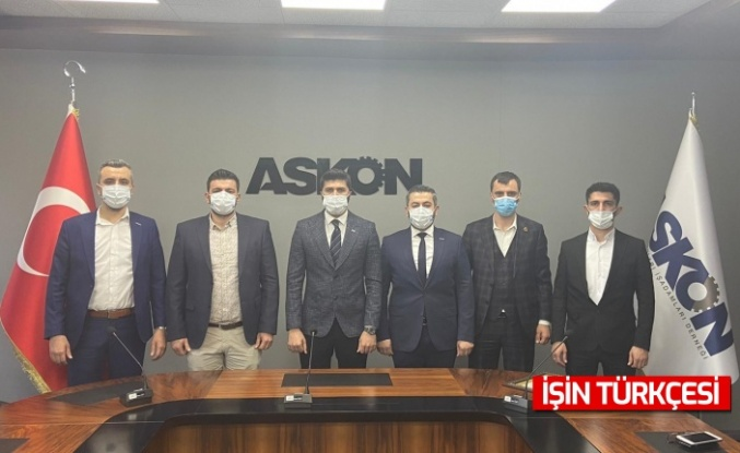 Genç ASKON Sakarya Şubesi Başkanı Mustafa Kahveci Görevini Devretti