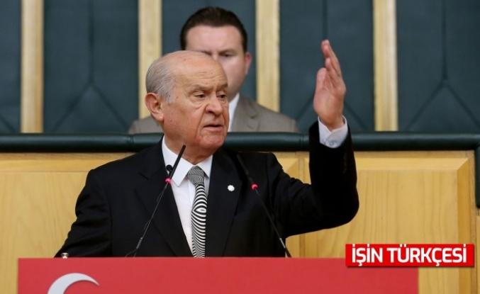 MHP Lideri Bahçeli: CHP ile İP, PKK'nın çizgisine taşınmışlar, FETÖ'yle de tek yumurta ikizi haline gelmişlerdir