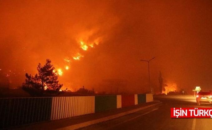 Yangınların ulaştığı Termik santral hakkında açıklama