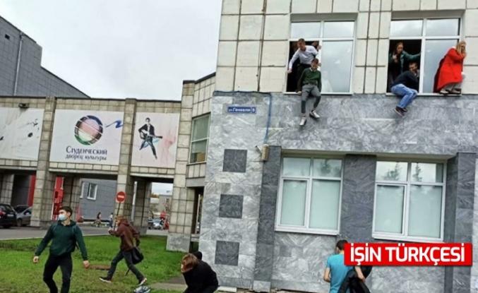 Rusya'da üniversiteye silahlı saldırı: 8 ölü, 14 yaralı