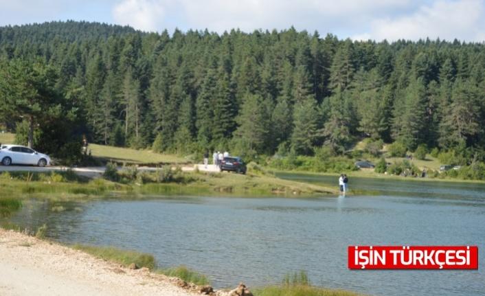 Sakarya'daki Karagöl Yaylası'na bayramda yüksek ilgi gösterildi!