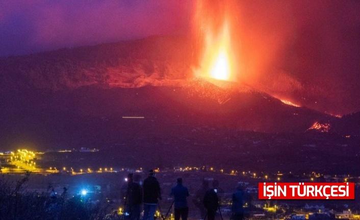 Kanarya Adaları'ndaki yanardağ felaketi hızla büyüyor