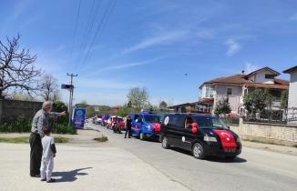 23 Nisan Konvoyu Bu Yılda Hendek'e Neşe Kattı